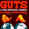 affiche FREE YOUR FUNK : GUTS & THE TROPICAL FAMILY