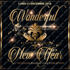affiche PALAIS MAILLOT WONDERFUL NEW YEAR 2019 (UNIQUE, MAGIQUE, EXCEPTIONNEL)