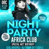 affiche La Night Party Africa Club