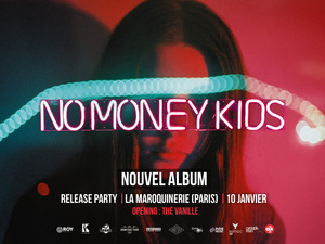 affiche NO MONEY KIDS + GUEST