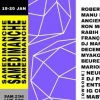 affiche Samedimanche: Robert Hood, Manu le Malin, Ancient Methods,Ron Morelli