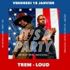 affiche Soirée IT'S A PARTY. Hip Hop - RNB - Dancehall . Vendredi 18 janvier au BIZZ'ART.