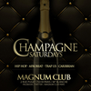 affiche Champagne Saturdays