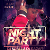 affiche Night Party #3//dj Soall&Razafi