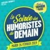 LA SOIREE DES HUMORISTES DE DEMAIN - FESTIVAL D'HUMOUR DE PARIS
