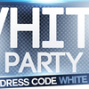 affiche White Party | Cuba Café