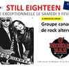 affiche Le groupe canadien Still Eighteen