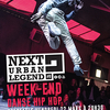 affiche Week-end hip hop Next Urban Legend