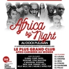 affiche AFRICA BY NIGHT