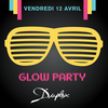 affiche GLOW PARTY