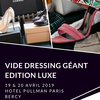 affiche Vide-dressing Edition Luxe – Pullman Paris Bercy