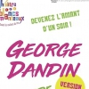 affiche GEORGES DANDIN VERSION 2.0