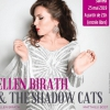 affiche Ellen Birath & The Shadow Cats au Jazz Café Montparnasse