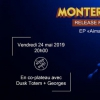affiche Monterosso Release Party • Dusk Totem • Georges - Supersonic