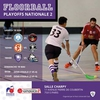 affiche Playoffs de Nationale 2 Floorball