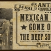 affiche Mexican Blackbird + Gone Out West + The Deep Southern Trail
