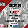 affiche Concert One Two Three RAP !