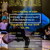affiche Battle Hip Hop all style 1 vs 1