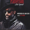 affiche RAHSAAN PATTERSON & live band