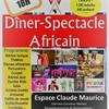 affiche Dîner-Spectacle Solidaire Africain