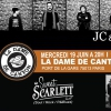 affiche JC & THE JUDAS + SWEET SCARLETT
