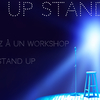 affiche Workshop de Stand Up