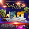 affiche PARIS BOAT SUMMER PARTY ( FILLES > GRATUIT, 2 AMBIANCES CLUB, TERRASSE GÉANTE PANORAMIQUE)
