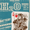 affiche H2O + BATTERY + SHARP/SHOCK