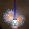 affiche Feu d'artifice du 14 juillet Paris 2020
