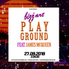 affiche Bizz'Art playground ft. James McQueen