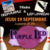 affiche PURPLE LED à OZOIR la Ferrière