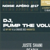 affiche Noise Apéro #17 DJ // PUMP THE VOLUME