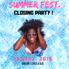affiche Paris Afro-Latin Summer Fest. à La Plage / Closing Party !