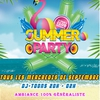 affiche Summer Party au Cuba Compagnie!