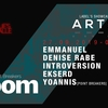 affiche BLOOM x A R T S w/ Emmanuel, Denise Rabe & Introversion