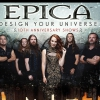 affiche EPICA - DESIGN YOUR UNIVERSE