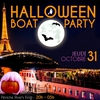 affiche HALLOWEEN BOAT PARTY ! (CROISIÈRE, Open Bar, Terrasse...)