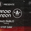 affiche Faust & Into the Deep: Paranoïd London, Mad Pablo, Step Daw