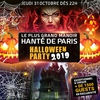 affiche LE PLUS GRAND MANOIR HANTÉ HALLOWEEN DE PARIS 2019 + de 1800 PERSONNES