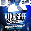 affiche Krispee PARTY #Birthday