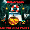affiche HALLOWEEN LATINO BOAT PARTY (AFTERWORK ,CROISIERE, SOIREE, DEUX AMBIANCES)