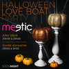 affiche HALLOWEEN LOVE BOAT PARTY FACE A NOTRE DAME DE PARIS (AFTER WORK + SOIREE)