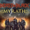 affiche BEAST IN BLACK + MYRATH