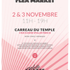 affiche Fashion Flea Market au Carreau du Temple #4