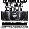 affiche Harry Potter: Wizard Secret Party - Sorcier.es en lutte!