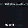 affiche Studio Drum & Bass Invite Wingz