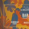 affiche KUMQUAT w/ BARAC, MAGGIE, AROUND THE WORLD