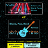 affiche Soirée concerts Blues, Pop, Rock, Sixty Nine !