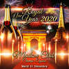 affiche ROYAL NEW YEAR PARTY CHAMPS ELYSEES ( FEU D'ARTIFICE ARC VIP 2020 )