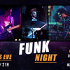affiche New Year's Eve - Diner Concert et Dj set Funk - Funk Night